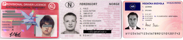 Driver's licence translation Perth