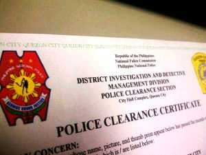 Police Clearance Certificate Translation
